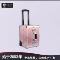 铝合金化妆箱 大号美容工具箱 多层化妆箱旅行箱批发