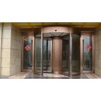 厂家生产保养全国安徽多玛酒店环柱旋转门