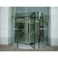 厂家生产保养全国安徽多玛酒店水晶旋转门