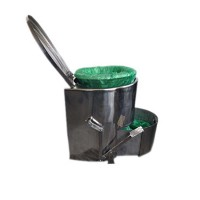 厂家供应 不锈钢打包座便器(积便型) 质高价优