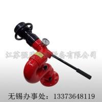 无锡强消固定式手动消防水炮PS20-50 80 可调式智能炮