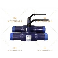 供应缩径一体式全焊接球阀,直埋式全焊接球阀Q61F