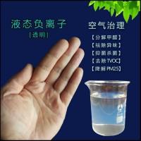 汽車內部凈化用水溶負離子,高釋放空氣治理用半透明液態負離子