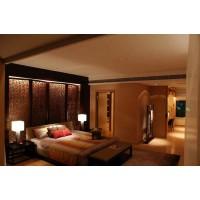 不锈钢屏风隔断客厅玄关定制简约中式轻奢餐厅玫瑰金属装饰墙