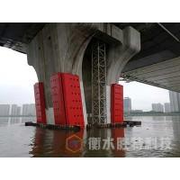 固定式钢覆复合材料桥梁防撞设施,新型复合材料防船撞装置