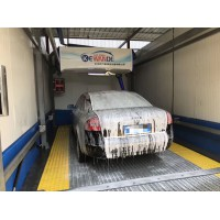 杭州科萬德海皇全自動洗車機語音播報電腦智能高泡精洗水蠟風幹