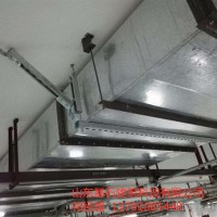 抗震支架C型鋼配件,鍍鋅U型管卡懸吊式管卡消防管道通風DN65-200