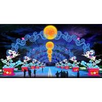 元宵花灯制作公司生产策划不同设计花灯制作工程