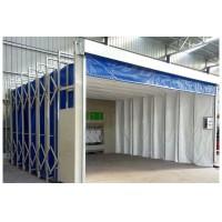 江西环保全自动伸缩房移动伸缩喷漆方大型伸缩房设计安装