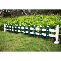 pvc草坪护栏,公园绿化带护栏,小区庭院花园栅栏