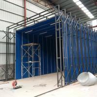 临沂厂家直供伸缩移动喷漆房打磨房 免费设计安装