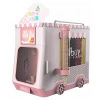 CTGY-无人智能贩卖冰淇淋机加盟优势 冰淇淋机加盟支持