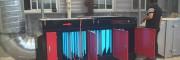 喷漆行业专用干式喷漆柜,水帘柜,喷淋塔,uv光氧催化一体机