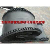 環型裙邊阻燃皮帶F55給煤機給料機專用無接頭膠帶