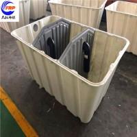众钛厂家直营1-2.5立方模压化粪池 三格式玻璃钢化粪池