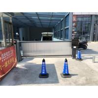 鄭州廣告道閘車牌識別設備智能停車場設備供應