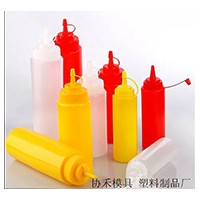 廠批超低價 塑料擠醬瓶沙拉瓶番茄醬瓶醬汁壺擠壓壺 四款三色