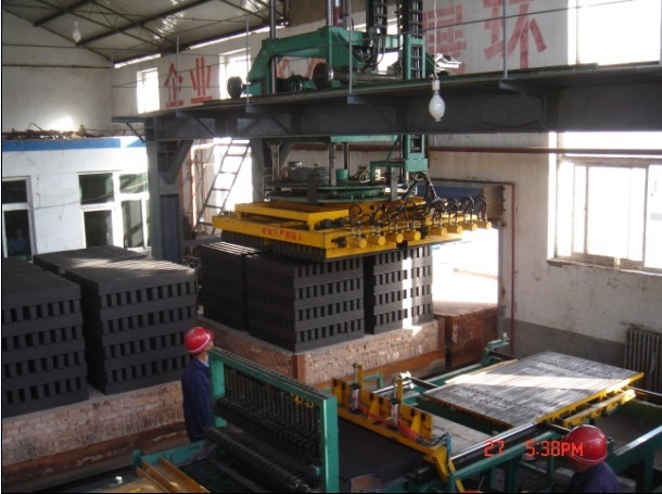 full automatic brick setting machine