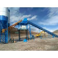 建一套HZS90型混凝土攪拌站產能及配置