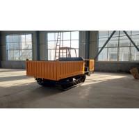 新款农用果园自卸式翻斗拖拉机搬运车山地泥泞路履带工程运输车