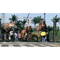 恐龙出租硅胶材质恐龙租赁价格