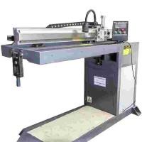 圆形筒体直缝焊接机 可焊接平板对接