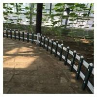 PVC草坪护栏围墙塑钢栅栏供应厂家