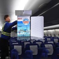 飞机内部清洗 纳米海绵 去污不伤物体表面 航空清洁压缩密胺绵