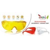 防护安全眼镜 白色/黄色/红色护目镜厂家