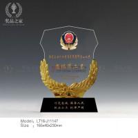 江西警 察獎杯 公 安武裝越野登山賽獎杯供應商 款式多樣