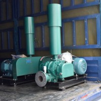 深圳羅茨風機三葉羅茨曝氣泵污水處理羅茨鼓風機