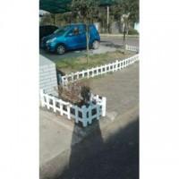 四川成都塑钢PVC护栏塑钢草坪栏杆