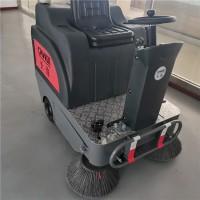 雙刷電動掃地機 車間電梯掃地車 灰塵落葉清理設備