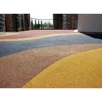 合川区彩色透水混凝圭、透水地坪、压花地坪、压印混凝土