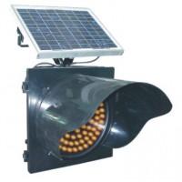 来宾太阳能黄闪灯led交通警示灯生产厂家