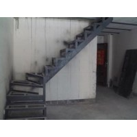 成都华阳铁艺楼梯钢结构隔层