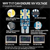 LED汽車小燈T10-24SMD儀表燈示寬燈閱讀燈