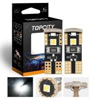LED汽車小燈T10-3SMD儀表燈示寬燈閱讀燈