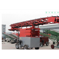 移动式转向伸缩输送机 粮食转向输送机批发