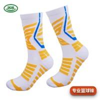 俊美隆籃球襪nba加厚中筒男襪夏季亞馬遜壓力毛巾女