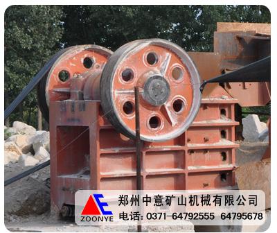 郑州中意鄂式碎石机在日产3000吨生产线设备演绎精彩