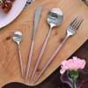 葡萄牙风格 西餐刀叉勺餐具套装 304不锈钢牛排刀叉勺甜品勺