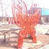景泰不锈钢雕塑工厂 蝴蝶雕塑 动物雕塑