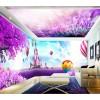 酒店套房个性3D壁纸定制 酒吧KTV量贩式主题背景墙壁画