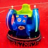 广场出租亲子蜗牛风火轮碰碰车双人电动玩具厂彩灯战车碰撞车电瓶
