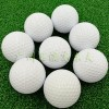 商务促销礼品现货供应高尔夫礼品球白色二层高尔夫球可印LOGO